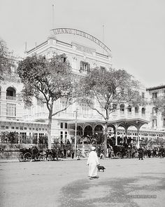 Grand Continental Hotel. Cairo, Egypt. 1900-1920