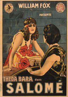 Vintage Poster : Salome : Theda Bara