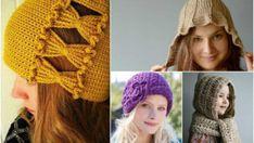 Bayan Şapka Örgü Modelleri |Şapka Ve Bere Modelleri