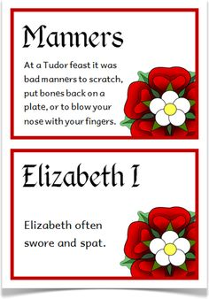 The Tudors Fact Cards - Treetop Displays - A set of 20 A5 fact cards that give fun and interesting facts about the Tudors. Each fact card has a key word heading, making this set an excellent word bank as well! Visit our website for more information and for other printable resources by clicking on the provided links. Designed by teachers for Early Years (EYFS), Key Stage 1 (KS1) and Key Stage 2 (KS2).