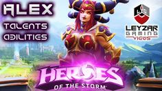 Heroes of the Storm (Hero Preview) - Alexstrasza Talents & Abilities (Ho...