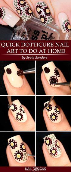 Super Simple DIY Nails Designs Every Girl Should Know ★ See more: - Diy Nail Designs Trendy Nail Art, Nail Art Diy, Easy Nail Art, Diy Nails, Nail Art At Home, Diy Nail Designs, Simple Nail Designs, Easy Designs, Diy Design