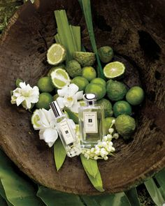 Jo Malone : Sweet Lime & Cedar. Wish I could smell them all!