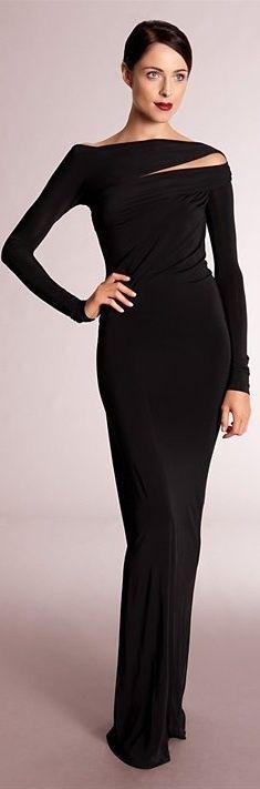 Donna Karan Donna Karan, Beautiful Gowns, Beautiful Outfits, Amazing Outfits, Traje A Rigor, Style Noir, Costume, Fashion Outfits, Womens Fashion
