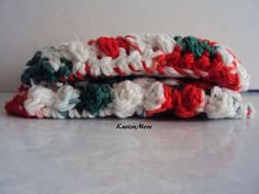 Crochet Dish Scrubbies Crochet Dish Clothes Set of 2 by KnotsnMore