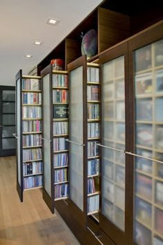 Video Game, DVD, and CD Storage Shelves