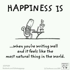 Happiness, plain and simple.  PenPuff.com
