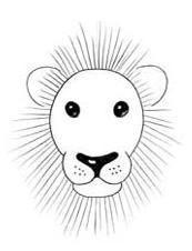 Como Dibujar La Cara De Un Leon Facilmente 4 Pasos Dibujo De La Cara Pintura De Leon Animales Faciles De Dibujar