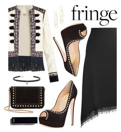 """Fringe"" by fsjamazon ❤ liked on Polyvore featuring Roland Mouret, Talitha, Gorjana, MANGO and Carbon & Hyde"