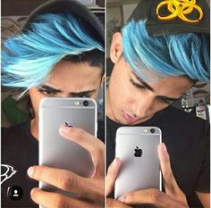 You know, i've been playing with my hair color ever since i was nine. Boys Dyed Hair, New Photo Style, Boys Colored Hair, Danish Men, Coloring For Boys, Photo Poses For Boy, Aesthetic Body, Danish Style, Photography Poses For Men