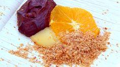Warm chocolate mousse with orange | MasterChef Australia #Masterchefrecipes