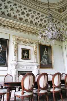 Wentworth Woodhouse's Dining Room