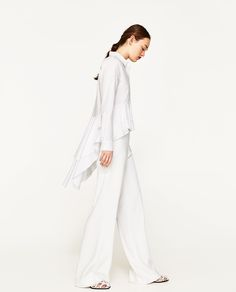 Image 3 of FRILLED SHIRT from Zara