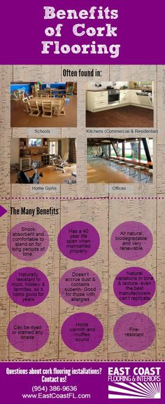 Comfortable, eco-friendly, and easy on the eye, cork flooring installations have increased in the last decade. Here's why!