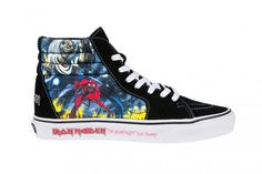 Vans x Iron Maiden 'The Number of the Beast' Pack