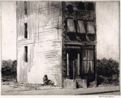Edward Hopper, The Lonely House, 1923