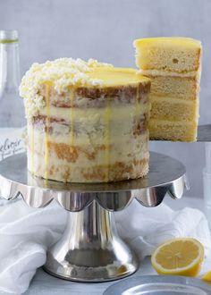 lemon elderflower cake