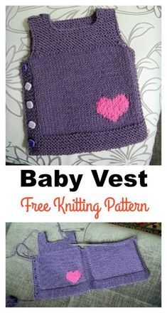 Adorable Baby Vest Free Knitting PatternFree Knitting Pattern for Storm Trooper Mitts - Star Wars inspired fingerless mi.Free Knitting Pattern for E. Baby Knitting Patterns, Knitting For Kids, Easy Knitting, Baby Patterns, Knitting Projects, Baby Sweater Patterns, Crochet Patterns, Sock Knitting, Knitting Tutorials