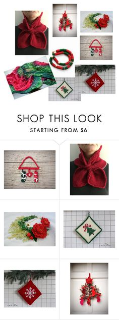 """Christmas Inspired"" by overthetopcaketoppers ❤ liked on Polyvore featuring interior, interiors, interior design, home, home decor and interior decorating"