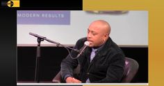 Daymond John in Harlem at Mist. First stop on his The Power of Broke book tour.