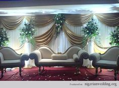 10 Fabulous Wedding Reception Stage Decor Ideas in Nigeria |