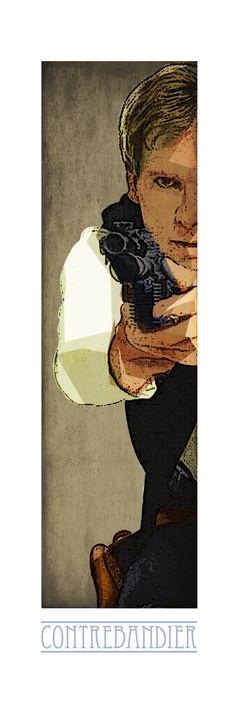 Han Solo ! Retrouvez toute la Série POP CULTURE Limitées en 10 Exemplaires Numérotés et proposés sur support rigide au format 90cm x 35cm