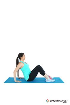This move is a real full-body burner! Prepare to set your #abs, lower back and shoulders on fire! | via @SparkPeople #fitness #workout #exercise