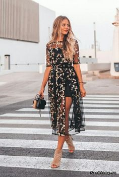 Simple Dresses, Casual Dresses, Short Dresses, Fashion Dresses, Formal Dresses, Sheer Dress, Dress Skirt, Dress Up, Event Dresses