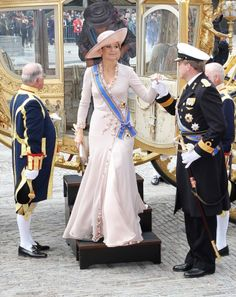 queenmaxima:  Crown Princess Maxima of the Netherlands attends Prinsjesdag, 2010