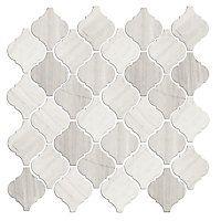 Back splash Legno Arabesque Limestone Mosaic Tile $24.99 Sq Ft Coverage 10.33 Sq Ft per Box