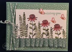 Hi Stampers! The sun is shining and I am finally able to finish a card I started over the weekend. It was for the Try Stamping on Tuesday and SU Only challenges. I hope I still ha…