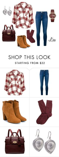 """""""Monday Morning"""" by coolmommy44 ❤ liked on Polyvore featuring River Island, Frame Denim, Laurence Dacade, Brooks Brothers, Mulberry, Lucky Brand, Marc by Marc Jacobs, women's clothing, women and female"""