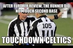 Oh replacement ref's...
