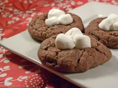 Hot Cocoa Cookies  from: afewshortcuts.com
