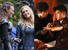 The 100, Shadowhunters, Top Couple  **I love that the final 2 contenders were gay couples!