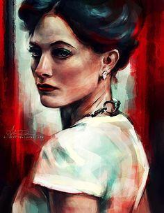 Digital Painting Portraits | Abduzeedo | Graphic Design Inspiration and Photoshop Tutorials