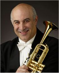 Michael Sachs, Principal Trumpet of the Cleveland Orchestra.