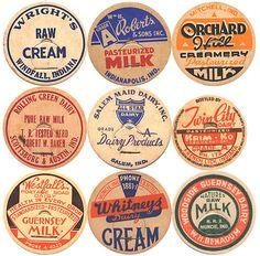 Circle vintage sticker