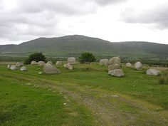 The Double Ring of No5 Stone Circle, 25 stones, Isle of Arran, Scotland