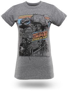 Empire Strikes Back babydoll T-shirt from Thinkgeek - on my shopping list for fall