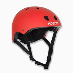 KaZAM Kid's Multi-Sport Helmet, Red: Protect your little one's noggin using kazam's multi-sport helmet. Functional, comfortable and stylish! finally a helmet they'll love to wear! forget the fuss, give 'em a Kazam Kids Helmets, Sports Helmet, Safety Helmet, Buy Motorcycle, Balance Bike, Ride On Toys, Motorcycle Accessories, Sport Bikes, Skateboards