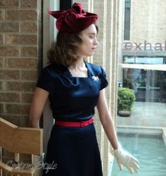 1940sDress  butterick 5281- styling I love and I have the hat pattern too!