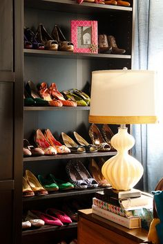 Umm hi I must do this for my Apt!  Dressing Room. photo House of Fifty Mag, via Flickr