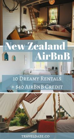 Check out these 10 dreamy New Zealand AirBnBs, all under $100 a night! Plus, get $40 off your first AirBnB booking.