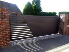 Wrought Iron Driveway Gate Design Ideas 19-min