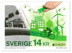 Sweden Europa Stamps 2016