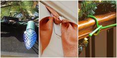 10 Tricks to Make Hanging Christmas Decorations Way Easier  - HouseBeautiful.com