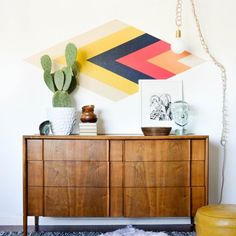 Make an amazing focal wall with PERFECT paint lines.