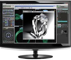 Matrix Interface Jewelry Design Software