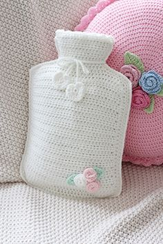 Hot water bottle by bleu et rosè ❥Teresa Restegui http://www.pinterest.com/teretegui/❥